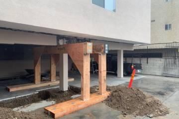 Los Angeles retrofit contractor- work in progress  - 1