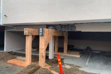 Los Angeles retrofit contractor- work in progress  - 2