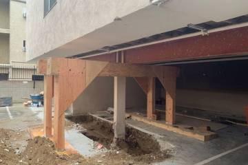 Los Angeles retrofit contractor- work in progress  - 4