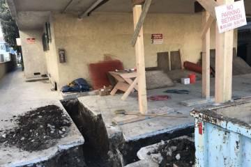 Los Angeles retrofit contractor- work in progress  - 6